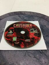 Crusader: No Remorse Disc Only PS1 --S2G--