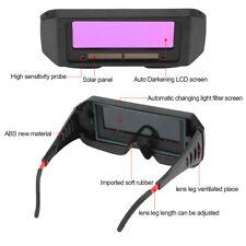 Solar Auto Darkening Welding TIG MIG MMA Goggles Welder Eyes Glasses + Strap Kit