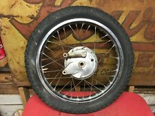 "Yamaha DT175 Rear Wheel Brake Plate Hub   DT 175  CT1  Enduro  18"""