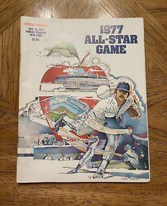 July 19,1977 MLB Baseball Official All Star Game Program New York Yankee Stadium
