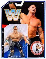 WWE John Cena Nuevo Retro Figura De Acción MATTEL 1 una lucha libre HASBRO estilo WWF