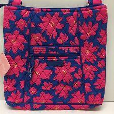 NWT Vera Bradley Large Hipster Crossbody Bag in Art Poppies