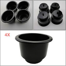 Black Boat Plastic Cup Drink Can Holder For Boat Car Truck Marine RV Universal
