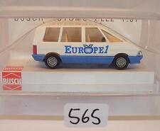 Busch 1/87 Nr. 45525 Renault Espace Bus Kombi Europe 1 OVP #565