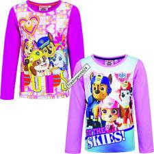 Paw Patrol T-Shirt Sweatshirt Shirt Langarm Kinder Disney Größe 98-128