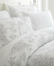 ienjoy Elegant Designs Patterned 3 Piece King Duvet Cover Set Grey Vines $84