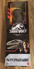 "Rare Jurassic World PACHYCEPHALOSAURUS 12"" Dinosaur Figure (Mattel, 2019) NEW"