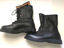 Bates Leather Black Boots, Vibram Sole Core-Tex Men's Size 10- 10,5W/XW NEW