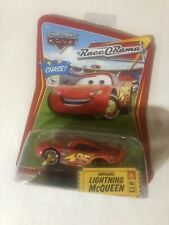 DISNEY PIXAR WORLD OF CARS RACE O RAMA #73 CHASE IMPOUND LIGHTNING McQUEEN