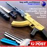 Gold AK47 Keyring Metal Gun PUBG AK47 Russian Assault Rifle Model Gun Keychain