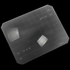 Ultra Bright 2 in 1 4x5 Fresnel Focusing Screen Ground Glass For Linhof Horseman