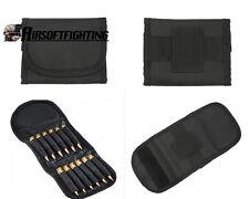 Ammo Wallet 12 Rounds Rifle Pouch Holder 223-308 Bullet Ammunition Holder Gun