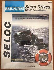 MERCRUISER STERN DRIVE REPAIR MANUAL 2001 to 2006 SELOC 3208