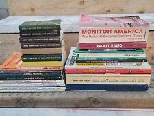 Lot of 27 Ham Radio Books, Manuals, Guides, Handbooks Directory Arrl Fcc Amateur