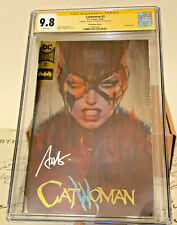 Catwoman #2 CGC Stanley Artgerm Lau Gold Label Signed SS 9.8
