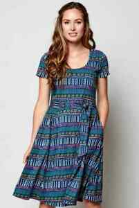 Nomads - Fit and Flare Organic Jersey Dress (NZ2008)