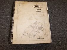 Tennant 8410 Sweeper Scrubber Parts Catalog Manual Manual MM390