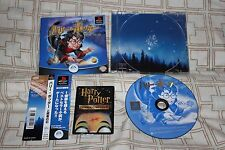 Harry Potter And The Philosopher's Stone (Japanese PS1 Import! OOP + Bonus!)