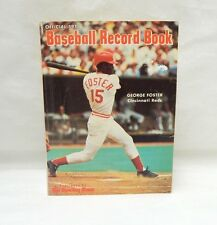 1978 Official Baseball Record Book George Foster Cover