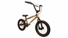 "Fit 2020 MISFIT 14"" TRANS GOLD bmx bike argh! Haro GT S&M SE +SHIP +F-IT HAT NEW"