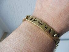 Schönes,altes,massives Armband__800 Silber vergoldet__OTTO__Panzerarmband__45,4g