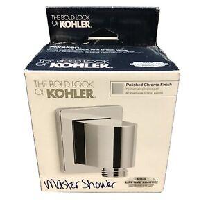 KOHLER K-98351-CP Awaken Wall-Mount Supply Elbow with Check Valve, Polished
