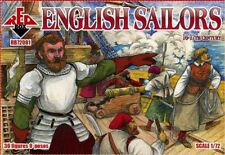 Red Box 1/72 English Sailors 16-17th Century # 72081