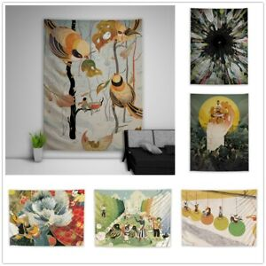 Illustration Retro Fantasy Tapestry Art Wall Poster Hanging Sofa Table Cover