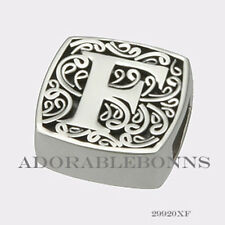 is for Fabulous Slide Charm 29920Xf Authentic Lori Bonn Sterling Silver F