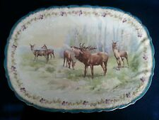 Austrian Imperial Crown China set with forest animals