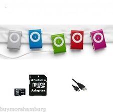Sonderposten - 15x Mini MP3 Player (Farbe Grün), USB - Neuware - OVP