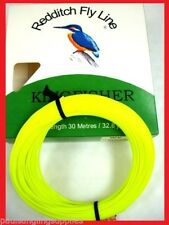 Redditch Hi Vis Fly Fishing Line Weight Forward 2 Float  WF2F Yellow