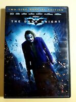 The Dark Knight DVD 2 Disc Special Widescreen Edition Christian Bale Free Shipp