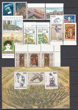 San Marino 1986 Annata Completa 16 v. + foglietto **