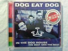 DOG EAT DOG - IN THE DOG HOUSE - THE BEST AND THE REST - CD - (MB/VG - EX/NM)