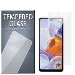 For LG Stylo 6 / Stylo 6 Plus Tempered Glass Screen Protector [3-PACK]