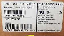 LOT OF 250 PCS TMS-SCE-1/2-2.0-2 3511630001 RAYCHEM RED CABLE MARKER