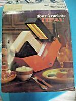 Ancien Four à Raclette Restaurant Savoie Montagne de la marque Tefal rare