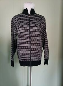 bomber jacket navy blue with H pattern not a hermes please don't remove it