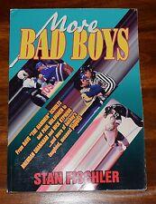 MORE BAD BOYS BY STAN FISCHLER SC 1995 NHL HOCKEY SHANAHAN LEMIEUX KYPREOS