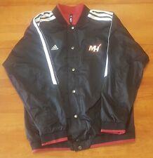 Miami Heat Adidas NBA Reversible Jacket Youth Size XL Windbreaker Lebron Wade