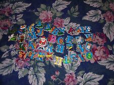 Huge lot of crafting magnets alphabet with animals for crafting magnets