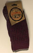 NWT Wigwam Classic Crew Sock All Weather Purple Hthr P6104 Size Medium Women's