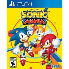 PLAYSTATION 4 PS4 VIDEO GAME SONIC MANIA BRAND NEW AND SEALED