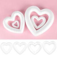 polystyrène la coeur de mousse la saint - valentin white craft couilles
