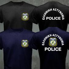 Greek Greece Hellenic Police T-shirt
