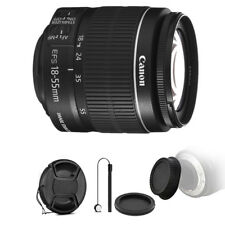 Canon EF-S 18-55mm f/3.5-5.6 IS II Lens + Lens Cap Holder for Canon 1200D 1300D