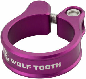Seatpost Clamp - Wolf Tooth Seatpost Clamp 36.4mm Purple - Seatpost Clamp