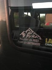 Landrover Suzuki Off Road 4X4 autocollant Decal Mountain