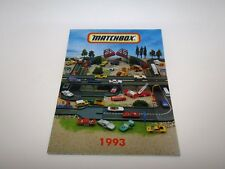 Matchbox Superfast 1993 Leaflet Catalogue GERMAN - No Graffiti - Mint RARE